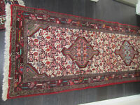 6 Persian Rugs, Carpets, Authentic with certificate