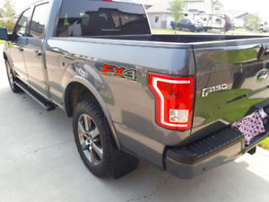 2016 F150 XLT, FX4 OFF ROAD PACKAGE