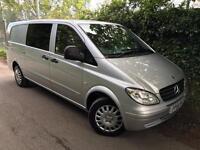 2008/58 Mercedes-Benz Vito Dualiner 2.1 111CDI, Extra Long, Comib Van, 5 seater