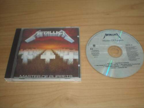 METALLICA - Master Of Puppets CD Album 1989