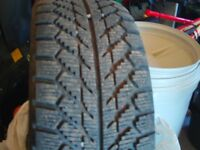 4, As New 215/55R/16 Winter tires