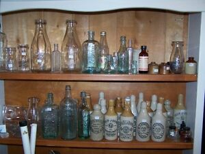 LOTS OF GREAT HALIFAX GINGER BEER AND GLASS BOTTLES PLUS OTHERS