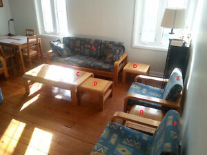 Full living room furniture set!