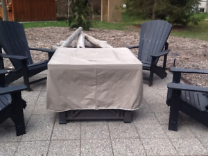 tabletop outdoor propane fireplace for sale