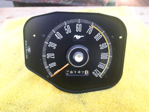1969 69 Mustang Coupe Fastback Convertible Speedometer