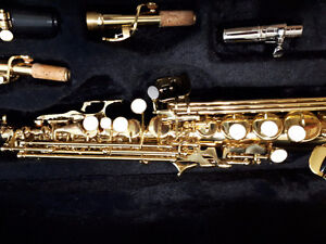 Beautiful Almost new Soprano sax. Great player
