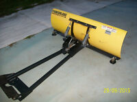 "Plow ""Power Blade""  48 inches (like new)"