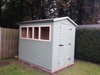 8ft x 6ft garden shed