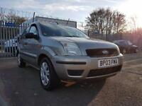 Ford Fusion 1.4 2003 AIR CON - HEATED FRONT SCREEN - ONLY 92K MILEAGE!