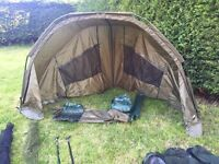 Fishing day shelter