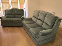 Three and two seater sofa set. Excellent condition. URGENT SALE