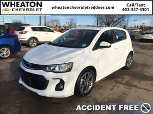 2018 Chevrolet Sonic LT  RS Edition, Sunroof