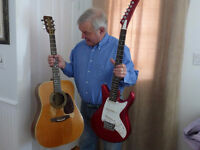 Guitar and other string instruments set up and repaired