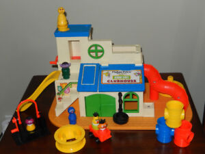 Fisher Price Vintage Toys