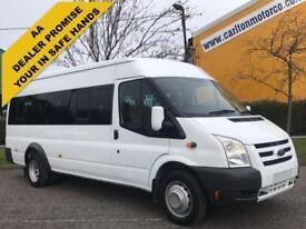 2009/ 59 Ford Transit 100 T430e 17S Minibus # WAV Wheelchair Lift # DRW
