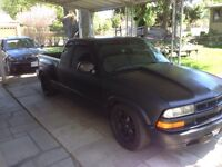 Chevy s10 matte black