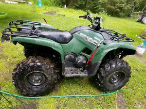 2014 Yamaha Grizzly 700 need gone