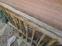 fence head board (deck Fences and wood bars) for 2