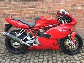 Ducati 800ss 800 supersport 12 months mot HPI clear immaculate