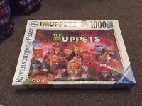 Ravensburger The Muppets 1000 piece jigsaw.