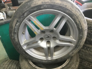 Acura TL mags and tires 215/50R17