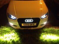 Audi LED front logo