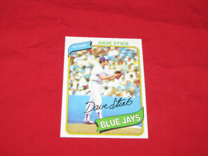 58 Topps Blue Jays cards, 1977-80, incl Dave Stieb rookie card*