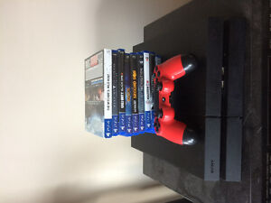 PS4 with 10 games