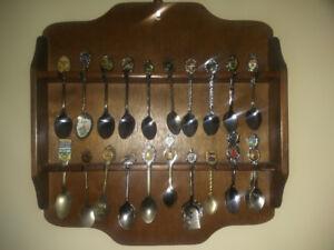 Collection of Souvenir spoons
