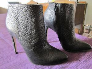 Newer Aldo black booties