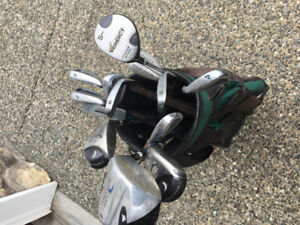 Left Hand Golf Clubs and Bag $80 obo
