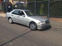 1997 Mercedes c200 Petrol automatic hpi clear full service history £695
