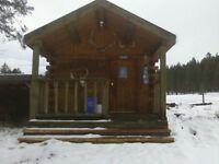 rural cabin