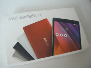 "ASUS ZENPAD 7"" Intel Quad Core x3 16gb SSD Android Tablet"