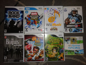Nintendo Wii Video Games $3 Each or Buy 4 for $10 London Ontario image 1