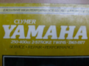 YAMAHA 250-400cc TWO STROKE CLYMER WORKSHOP MANUAL Cambridge Kitchener Area image 1