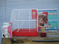 HAMSTER STARTER KIT with/ extras