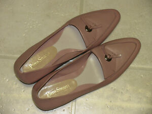 Brand New Old Rose Leather Shoes for Ladies