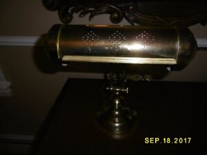 Moving Sale.........Brass Piano lamp $15 good Quality