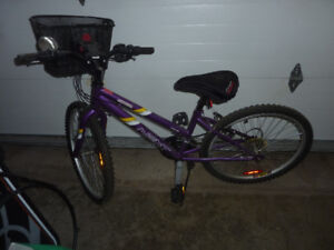 24 inch tire bike, 18 speed, very good condition