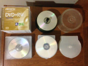 DVD – CD – ALL Brand New Never Used – 69 Discs