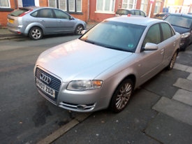 Audi A4 57plate spares or repairs
