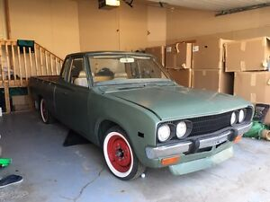 For sale 76 datsun 620 rolling shell
