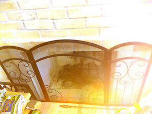 Fireplace fence/gate - $35 O.B.O.