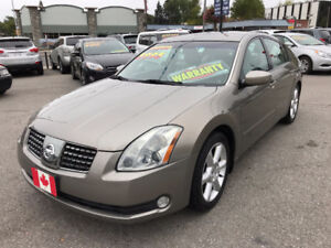 2004 Nissan Maxima SE SEDAN....ONLY 95,000 LOW KMS...MINT COND.