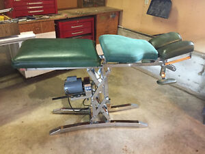 Chiropractor, Massage, and Acupuncture Electric Table