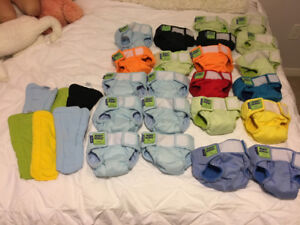 Monkey Doodle size small cloth diapers