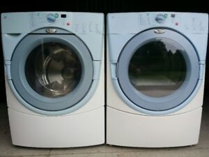 Whirlpool Duet washer and dryer WORKING stackable