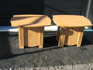 2  PETITE   TABLES   DE  SALON
