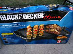Black& Decker grill